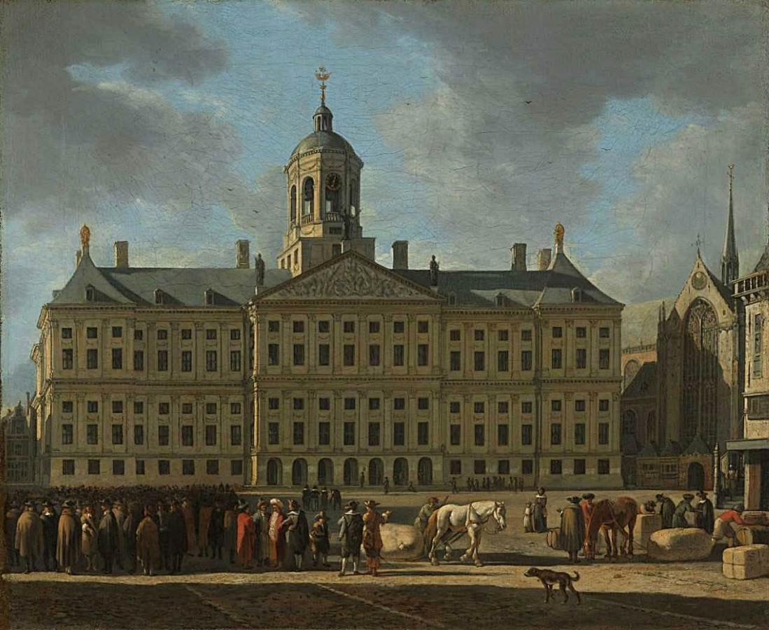Laura Plezier | Wonder and the poems about the Town Hall of Amsterdam